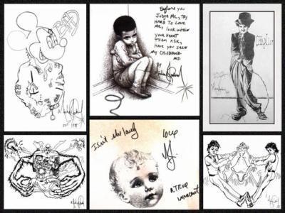 Oo dessin fait par michael jackson oo michaelmyworld - Dessin de michael jackson ...
